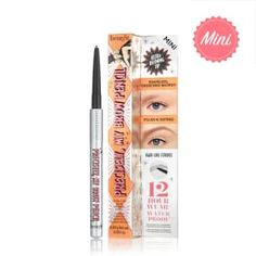 Oh my WOW…precise & defined eyebrows! The Benefit Precisely My Brow Pencil Ultra Fine Shape & Define draws incredibly natural-looking, hair-like strokes that last 12 budge-proof hours.* A few strokes of the rich yet blendable colour will transform brows from shapeless & undefined to filled & defined eyebrows. Features: - Eyebrow filling pencil - Twist-up, non-sharpen tip - Waterproof** eyebrow pencil - Built-in spoolie - 7 easy-to-choose shades - Signature Tips & Tricks included - No… Blonde Light Brown Hair, Brown Auburn Hair, Golden Blonde Hair, Sandy Blonde, Black Hair, Fill In Brows, Filling In Eyebrows, Eyebrow Filling, Goof Proof Brow Pencil