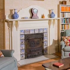 3 Steps for Tiling a Fireplace