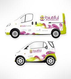 Marcaje de vehículos corporativos de marca distribuidora de cosméticos