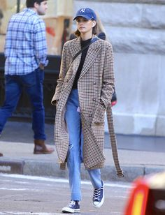 Kaia Gerber New York October 2019 – Star Style Fashion Mode, Star Fashion, Fashion Pants, Korean Fashion, Fashion Outfits, Womens Fashion, Mode Outfits, Fall Outfits, Casual Outfits