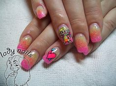Cupid baby - Nail Art Gallery by NAILS Magazine