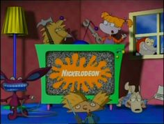 Featuring The 90s Nickelodeon Cartoon Characters