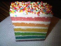 Rainbow Cake ƪ(˘⌣˘)ʃ , from My Bish ♥ @Lockerz