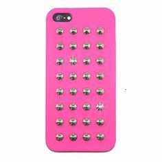 Punk Nails Silica Gel Back Case for iPhone 5 5S d35afe4b5c395