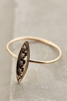 Workhorse Diamond Dash Ring - anthropologie.com #anthroregistry