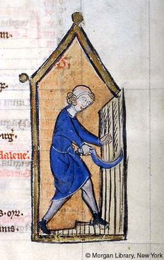 Psalter-Hours, MS M.97 fol. 4r - Images from Medieval and Renaissance Manuscripts - The Morgan Library & Museum