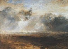 William Turner -seascape   What a piece of art!