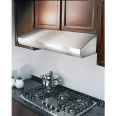 Kobe CH27 Pro-Style Under Cabinet Range Hood with 800 CFM Internal Blower, 4 Speed Electronic Buttons, Multi Exhaust Venting, Time Delay Controls and Baffle Fil