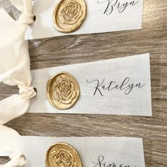 Modern Wedding Place Cards on Vellum with Wax Seal Wedding Name Tags, Wedding Cards, Print Place, Seal Design, Wedding Places, Wax Seals, Handmade Wedding, Day Use, Manualidades
