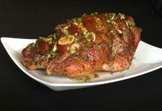 Fűszeres egyben sült sertéslapocka Meatloaf, Meat Recipes, Sausage, Steak, Bacon, Pork, Beef, Dishes, Mint