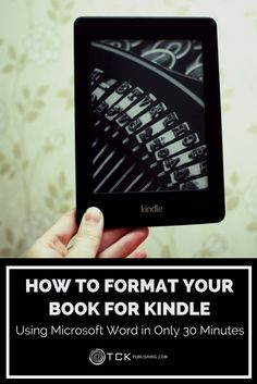 Creating a professional-looking Kindle book is easy! Follow these step-by-step illustrated instructions to produce your Amazon Kindle book in only 30 minutes using Microsoft Word.
