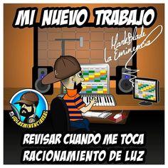 (Sigueme en Instagram/LAEMINENCIAreal Solo el venezolano sabe de que le hablo #RacionamientoElectrico #Corpoelec #administraciondecarga  buajajaja #LaEminenciaLOL #YoEnMuñequito  #ProblemasDeProductores  #producerproblems  #producerlife #studio #makingbeats #Lol  #reggaeton #riete  #humor #comedia #mixing  #chistes #estudiodegrabacion #musica #productormusical #protools #flstudio #siguemeytesigo #producers #LaEminencia producer problems problemas de productores #producermemes #producermeme…
