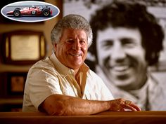 Arguably one of the most amazing race car drivers ever. Mario Andretti.