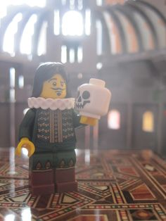 To brick or not to brick? (Lego Hamlet :D)