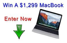 Win A Macbook Pro Worth $1,299