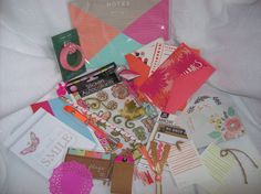 Planner Kit Filled with Stationery, Planner & Snail Mail Supplies by ASprinkleOfLovely on Etsy