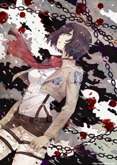 Shingeki no Kyoujin: Blood stains by Eternal-S on deviantART