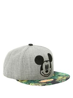 7803d649a43 Disney Mickey Mouse Tropical Snapback Hat Beanie Hats