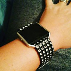 Fitbit Blaze Faux Diamond Fitbling Fitbit by overallpersonALIty