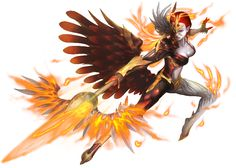 No.949 熾焰之翼 ‧ 烏列爾 Wings of Blaze - Uriel #神魔之塔 #神魔_諸界看守者
