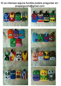 Catalogue Foam Mobile Cases by anapeig on deviantart