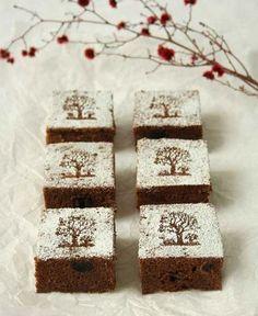 ... Christmas brownies ...