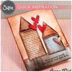 Sizzix Inspiration | Long Distance Friendship Card by Anna Wight