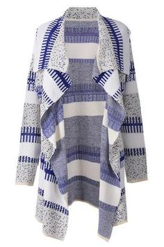 Cupshe Just For You Printing Sweater Cardigan