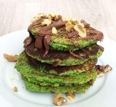 Spinaziepannenkoeken Light Recipes, Avocado Toast, Protein, Cooking, Breakfast, Healthy, Easy, Food, Sports