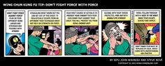Don't Fight Force with Force... www.wingchunonline.com