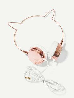 Romwe, Bucket List For Teens, Cute Headphones, Dream Engagement Rings, Latest Fashion For Women, Cat Ears, Tattoo Quotes, Tattoo Designs, Shapes