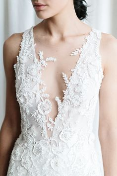 French lace beauty from the couture collection by suzanneharward Luxe Wedding, Bridal Wedding Dresses, Wedding Bells, Dream Wedding, Most Beautiful Wedding Dresses, Fantasy Wedding, Woodland Wedding, Marie, Suzanne Harward