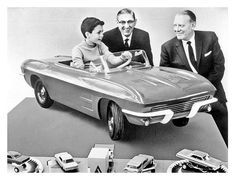 1963 Corvette Pedal Car. This is probably the closet I'll get to owning a Corvette lol