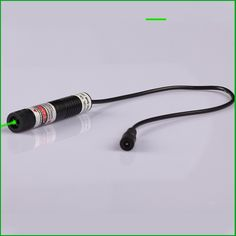 (68.00$)  Watch now - http://aiucf.worlditems.win/all/product.php?id=32595402336 - 30mW 532nm Line (Gauss beam) green laser module with power adapter size16x72mm