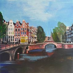 Holland, Amsterdam Canals