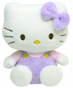 Ty Pluffies  Hello Kitty Purple ** Be sure to check out this awesome product.Note:It is affiliate link to Amazon.
