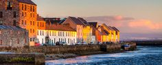 Sunset On A Beautiful Winter Day In Galway Ireland Poster by Mark Tisdale - Travel tips - Travel tour - travel ideas Cadiz, Barcelona, Hometown Heroes, Ireland Homes, Travel Tours, Travel Ideas, Winter Day, Beautiful Places, Beautiful Pictures