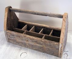 Large Farmhouse Style Barn Wood Tote by OldTimePickers on Etsy