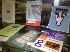 At Rochester Library is the display of Guildford School of Art Prospectuses from the 1950s and 60s.  One of the original Schools which helped form UCA today, this display of Guildford's prospectuses is an inspiration for anyone interested in retro design. #Rochester