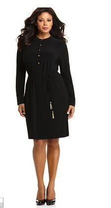 11e7b5a84dc Calvin Klein Plus Size dress. Plus Size Fashionista