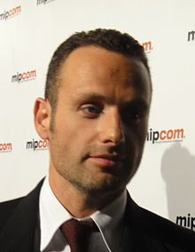 andrew lincoln, The Walking Dead on AMC.