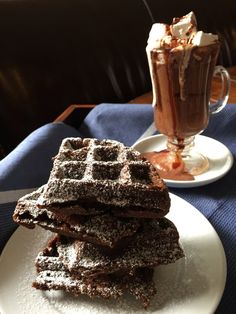Gingerbread Waffles, yes please!! Gluten free, dairy free, egg free, soy free, vegan. A must try recipe that's easier than you think!!