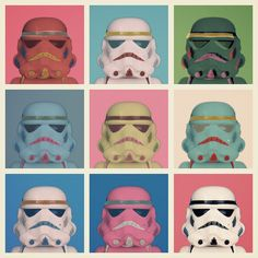 Warhol Troopers by Balakov, via Flickr