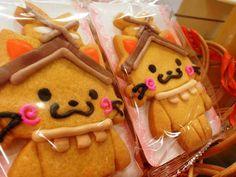 ☆しまねっこクッキー☆  続々発売されているしまねっこ商品。 今回は松江市の島根ふるさと館内にあるで見つけたしまねっこクッキー♪…