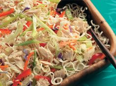 Asian Tuna Noodle Salad    | Clover Leaf