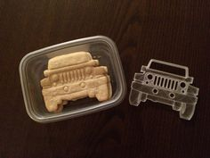 Jeep Wrangler Cookie Cutter by kswaid.