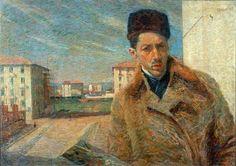 Umberto Boccioni autoritratto