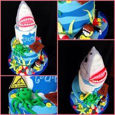Shark cake | Flickr - Photo Sharing!