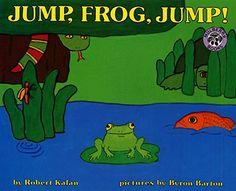 Jump, Frog, Jump! by Robert Kalan http://www.amazon.com/dp/0688092411/ref=cm_sw_r_pi_dp_pjUfwb1KP0TEM