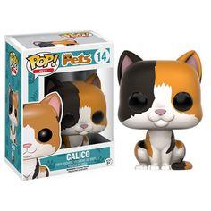 Pop! Pets Calico Pop! Vinyl Figure - Funko - Animals - Pop! Vinyl Figures at Entertainment Earth